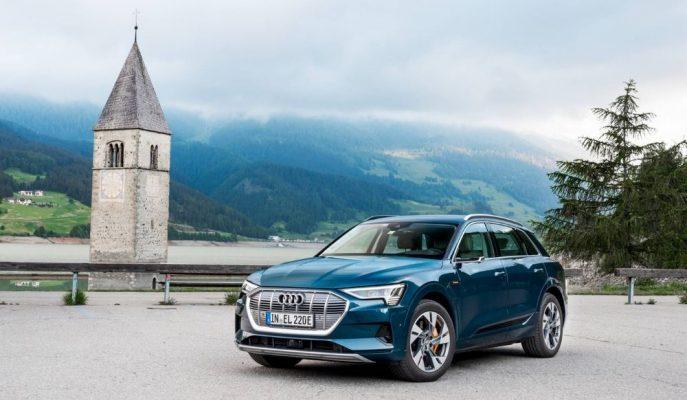 Audi'nin E-Tron SUV'u 10 Ülkeyi Kapsayan 1.600 Km'lik Gezisini Bitirdi!