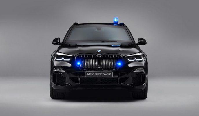 BMW, 15 Kg TNT'ye Dayanan Zırhlı X5 ile En Karanlık X6 Coupe'yi Gösterdi!