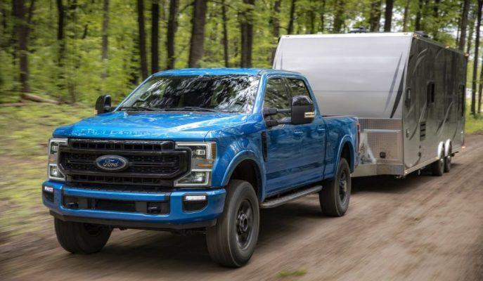 Ford'un F Serisi Super Duty'leri için Geliştidiği En Büyük 7.3L V8!