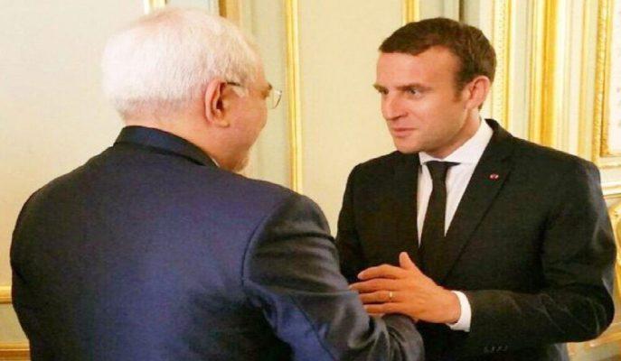 Fransa Cumhurbaşkanı Macron ve İran Dışişleri Bakanı Zarif G7 Zirvesi'nde Buluştu!