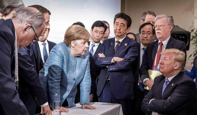 G7 Zirvesi Tarihte İlk Kez Ortak Bildiri Olmadan Sonlanmaya Ayarlandı