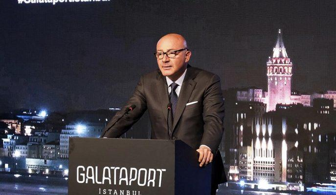 1,7 Milyar Dolar Yatırımlık Galataport İstanbul 2020'nin Mayıs'ında Açılıyor