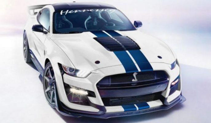 Hennessey, Ford Mustang Shelby GT500'ü 1.200 Beygirle Hareket Ettirecek!
