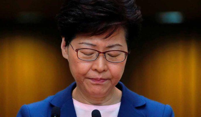 Hong Kong Lideri: Kent Çok Tehlikeli Bir Durumun Eşiğinde