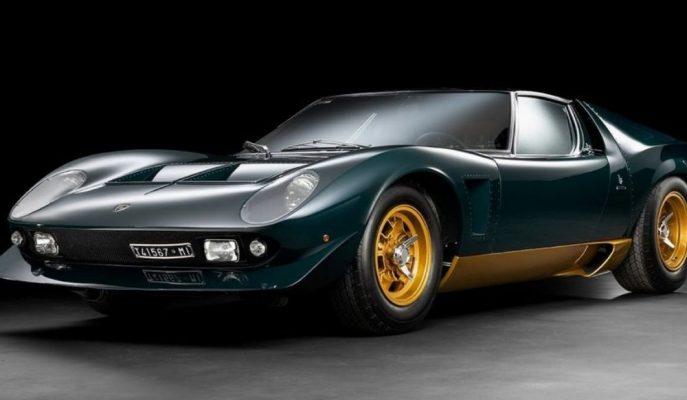 """320 Bin Dolara Restore Edilen Dünyadaki Tek """"Lamborghini Miura Millechiodi"""""""