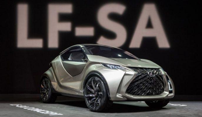 Lexus'un Önceden Tanıtılan LF-SA Konsepti Üretim Modeli Olabilir!