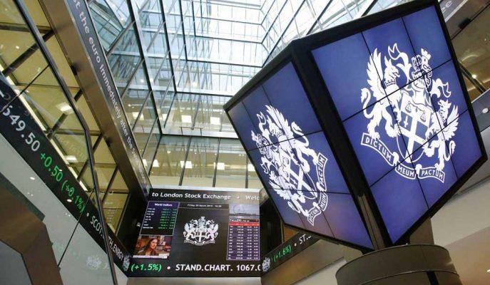 Londra'nın FTSE 100 Endeksi, Avrupa İşlemlerine Başlangıç Yapamadı