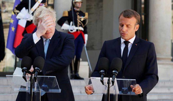 Macron'dan Johnson'a: Yeni Bir Brexit Anlaşması için Zaman Yok