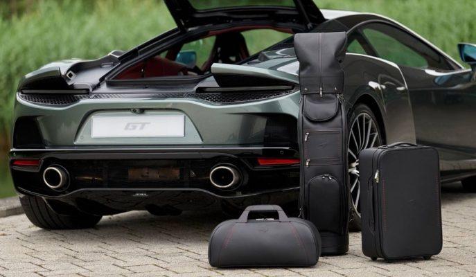 McLaren'in MSO Birimi GT için Yapılan 14 Bin Dolarlık Bagaj Setini Gösterdi