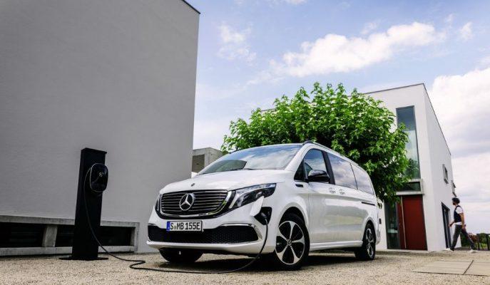 Mercedes Elektrikli EQV V-Class'ını Tanıttı!