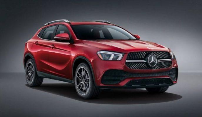 Özel Tasarımcıdan Yaklaşan Mercedes GLA'ya Bir Yorumu Geldi!