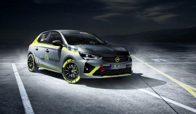 2020 Yeni Opel Corsa-e Dünyadaki İlk Elektrikli Ralli Aracı Olacak!