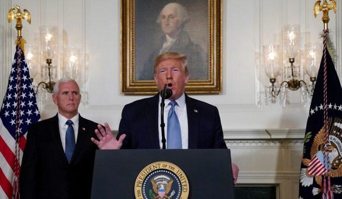 """Ticaret Gerilimi Artarken, Trump ABD'deki """"Güçlü Pozisyona"""" İşaret Etti"""