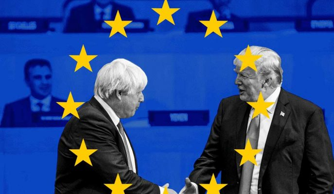 Trump, İngiltere ile Brexit Sonrası Çok Büyük Bir Ticaret Anlaşmasına İşaret Etti