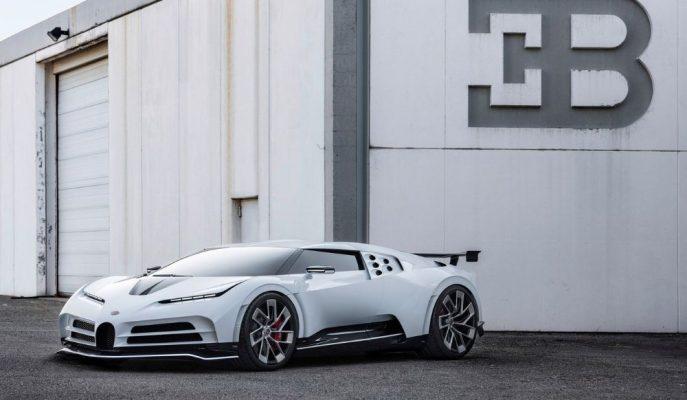 """Bugatti'nin 90'lı Yıllara Göndermeli Yeni Modeli """"Centodieci"""""""