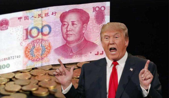 Yuan Tarihi Düşük Seviyelere İnerken, Trump Çin'i Para Manipülasyonu ile Suçladı