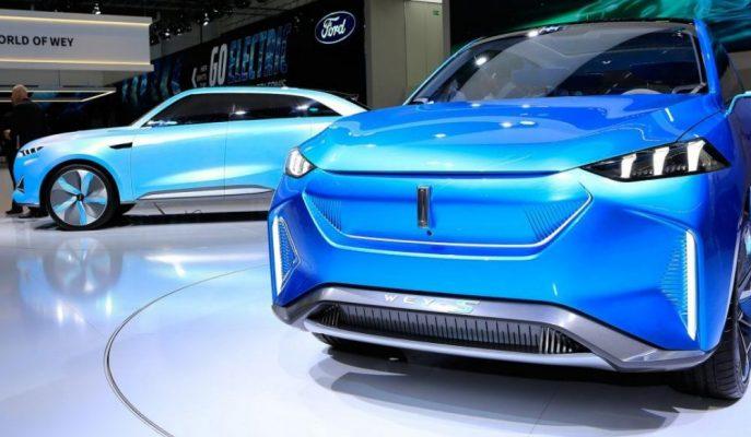 Çinli Wey'in S ve X Crossover Modelleri Frankfurt'a Damga Vurdu!