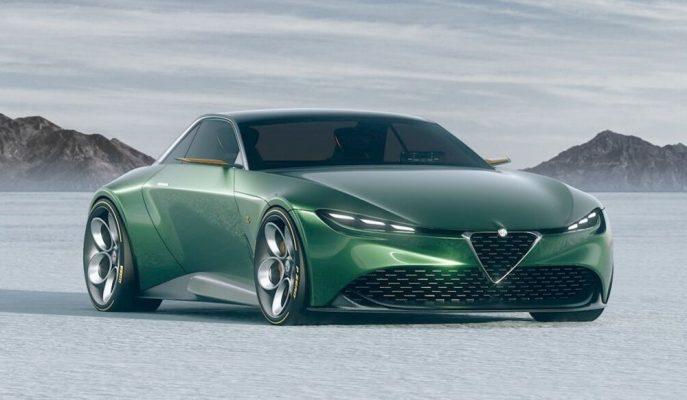 Alfa Romeo-Zagato'nun Modern GT 1300 Junior Tasarımı!