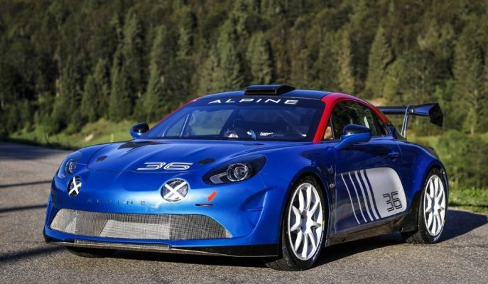 Alpine'nin Yeni 300 Ps'lik A110 Rally Tipi Gösterildi!
