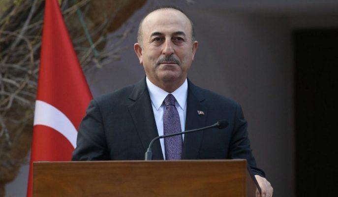 Bakan Çavuşoğlu Kıbrıs Ziyaretinde Doğu Akdeniz Meselesindeki Kararlılığımızı Vurguladı