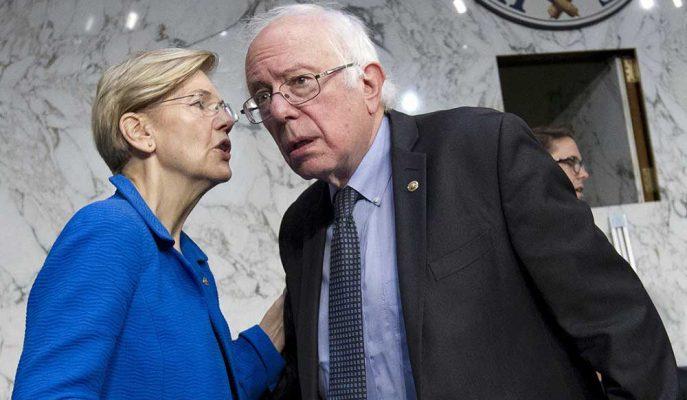 Bernie Sanders Daha Sert Servet Vergisi Planıyla Elizabeth Warren'ı Geçmeye Çalışıyor