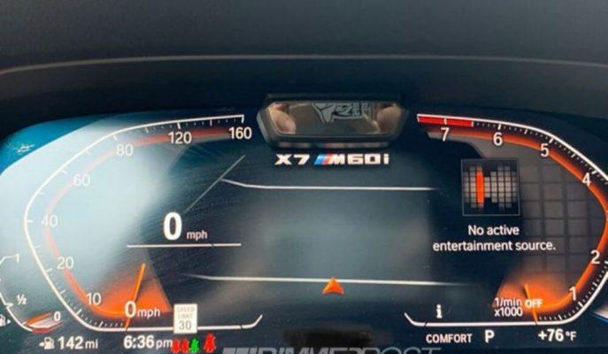 BMW, V12 Motorlu X7 M60i Üzerinde Çalışıyor Olabilir!
