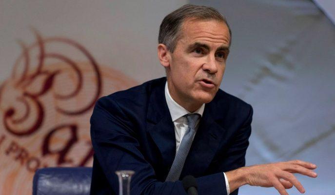 BoE Başkanı Carney'e Göre Negatif Faiz Politika Aracı Olarak Kullanılamaz