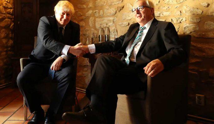 Boris Johnson, AB Komisyonu Başkanı Juncker'la İlk Görüşmesini Lüksemburg'da Yapacak