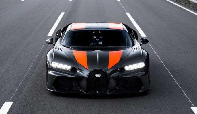 Bugatti Her An Fikrini Değiştirip Chiron Longtail'i 515 Km/h'ye Çıkartabilir!
