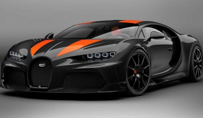 Bugatti Chiron Super Sport 300+ Longtail'in Üretim Versiyonu Olarak Geldi!