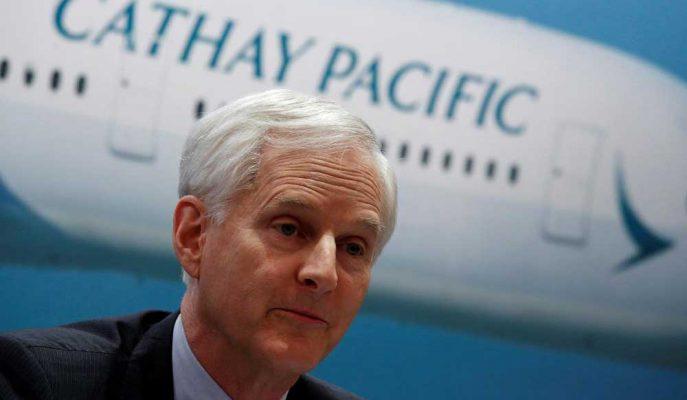 Cathay Pacific Başkanı John Slosar da İstifa Etti