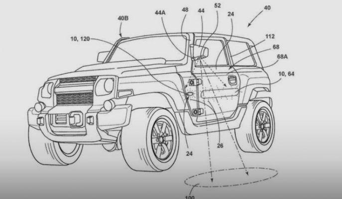 Ford Bronco'nun Patentlenen Parça Çizimleri Yayınlandı!