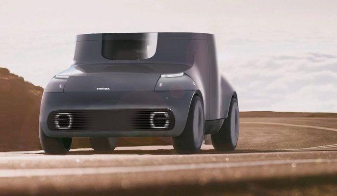 """Honda, Şimdi Garip Gelen Ancak Gelecekte Olabilecek Bir Konsept Gösterdi: """"Skyroom"""""""