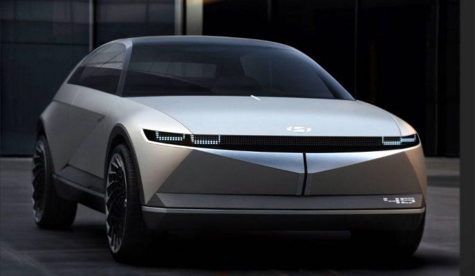 Hyundai Yakın Gelecekteki EV Araç Yüzlerini 45 Concept Üzerinden Gösterdi!
