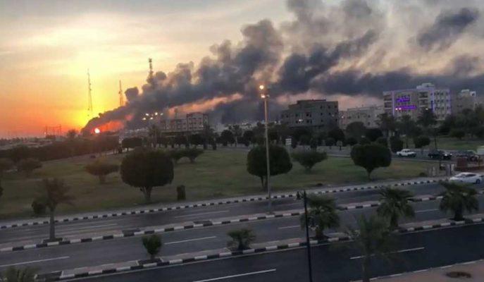 Suudi Saldırılarının Küresel Arzı Etkilemesiyle Petrol Fiyatı Risk Primi Geri Döndü