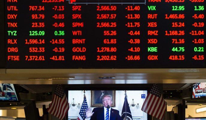 Küresel Hisseler ABD'nin Yeni Ek Vergi Tarifesiyle Düşüş Gösterdi