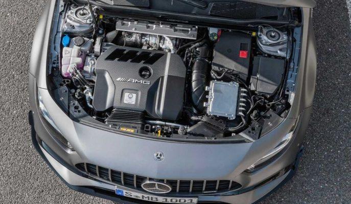 Mercedes-AMG 45 S'in 2.0L Motoru Üst Performans Modellerine Geçirilebilir!