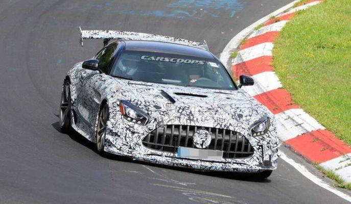 Mercedes-AMG'nin Yeni GT R Prototipi Yarışçı GT3 Gibi Duruyor!