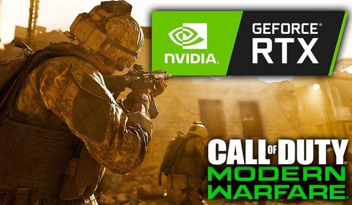 Nvidia RTX Serisi Ekran Kartı Alanlara Call of Duty: Modern Warfare'ı Hediye Ediyor