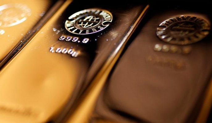 1500 $ Altında Seyreden Ons Altın Bu Haftayı da Kayıpla Tamamlamaya Yöneldi