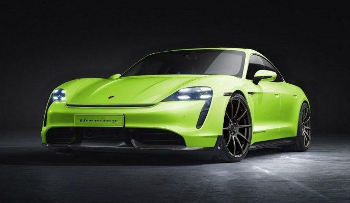 Hennessey İlk Modifiyeli EV Aracının Porsche Taycan Olacağını Duyurdu!