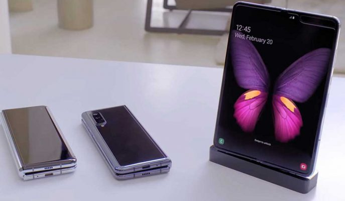 Samsung'un Katlanabilir Telefonu Galaxy Fold'a Özel Uygulamalar Geliştirilecek