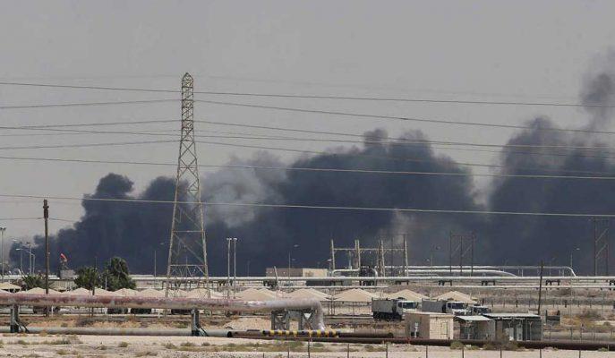 Yetkililer, Saudi Aramco Petrol Üretim Tesislerindeki Hasarı İnceliyor