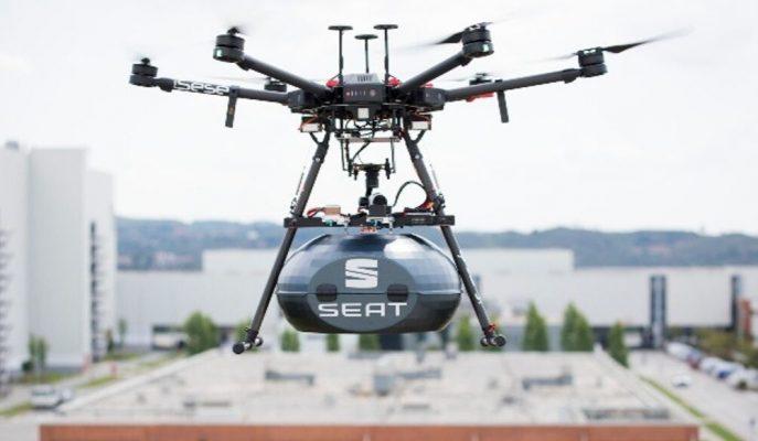 Seat, Tesisleri Arasında Parça Taşımacılığını Drone Hava Aracı ile Yapacak!