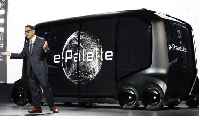 2020 Japonya Olimpiyatları'ndan Önce Toyota e-Palette Otonom Araçları Sokaklara Bırakılacak!