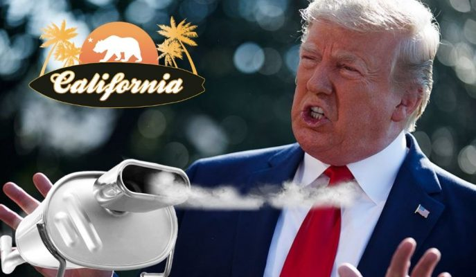 Trump, Kaliforniya'nın Emisyon Feragatını İptal Etmek için Hazırlanıyor!