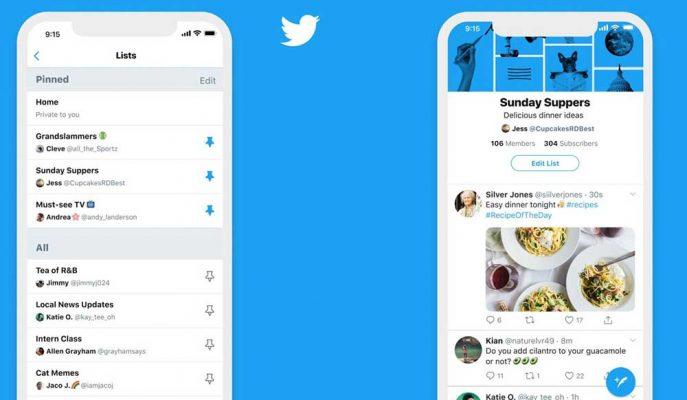 Twitter'ın Listeler Bölümünü Ana Sayfa Gibi Kullanmak Mümkün Olacak