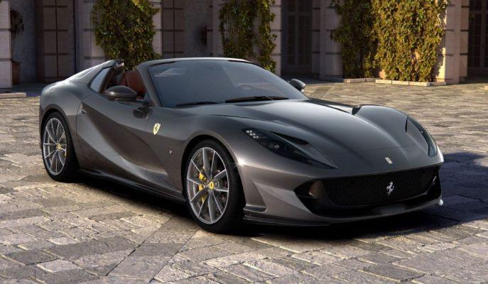 Ferrari ve Dünyanın En Güçlü Cabriosu Olacak 812 GTS Karşısında!
