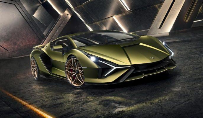 """Lamborghini'nin Tarihindeki İlk Hibrit Süper Otomobili """"Sian"""""""