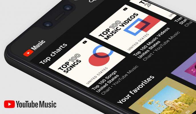 YouTube Music Android 10'un Varsayılan Müzik Uygulaması Olacak